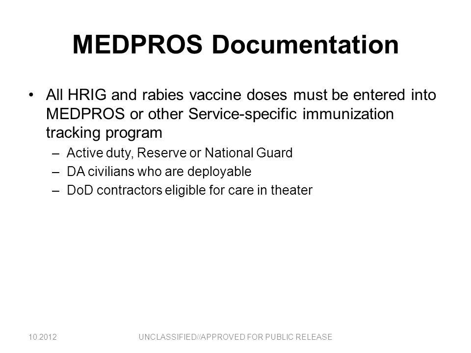 MEDPROS Documentation
