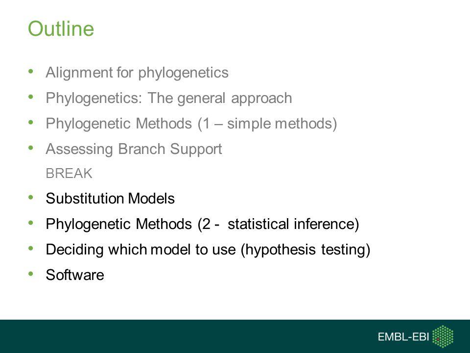 Outline Alignment for phylogenetics