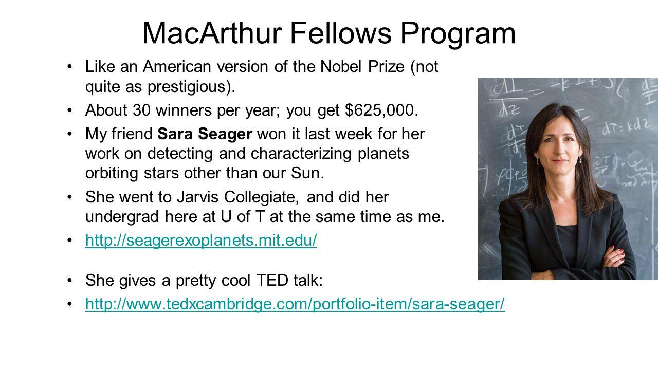 MacArthur Fellows Program
