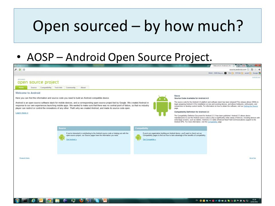 Open sourced – by how much
