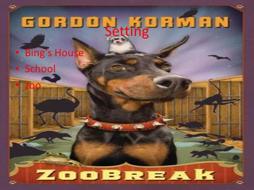 Setting Bing's House School zoo