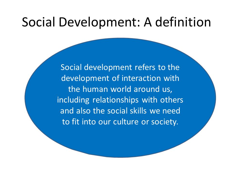human development and socialization relationship advice
