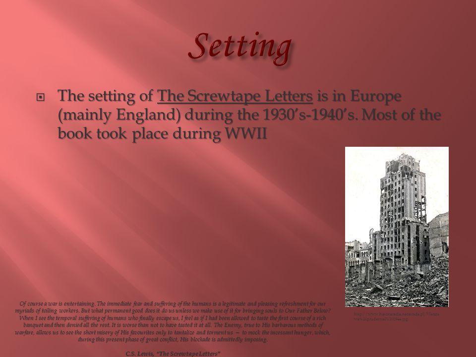 C.S. Lewis, The Screwtape Letters