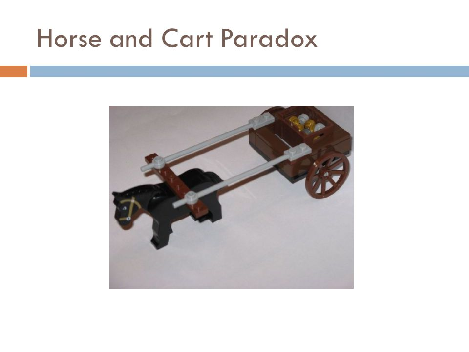 Horse and Cart Paradox