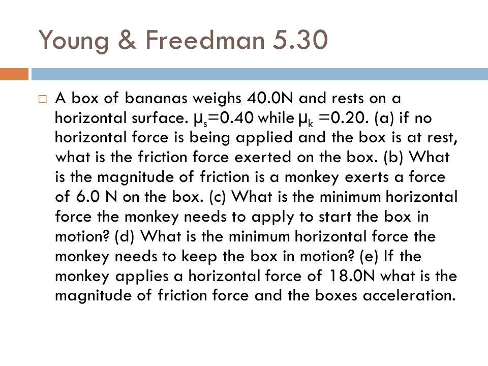 Young & Freedman 5.30