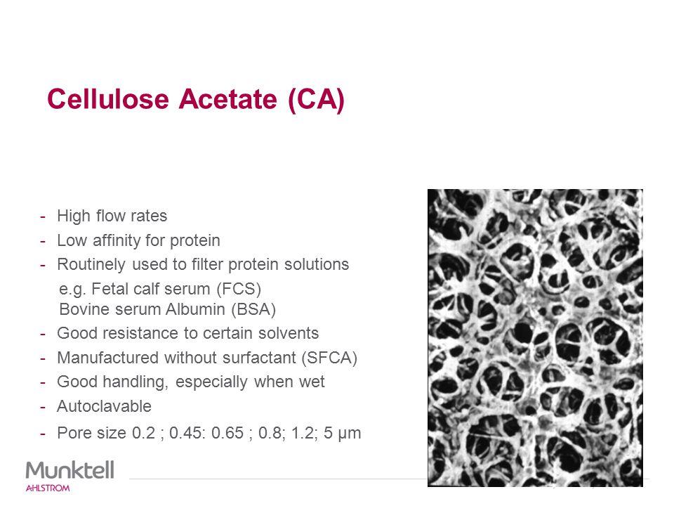 Cellulose Acetate (CA)