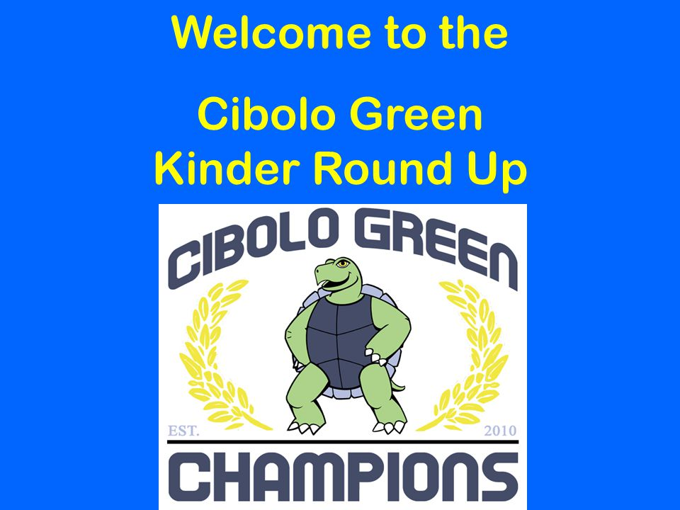 Cibolo Green Kinder Round Up