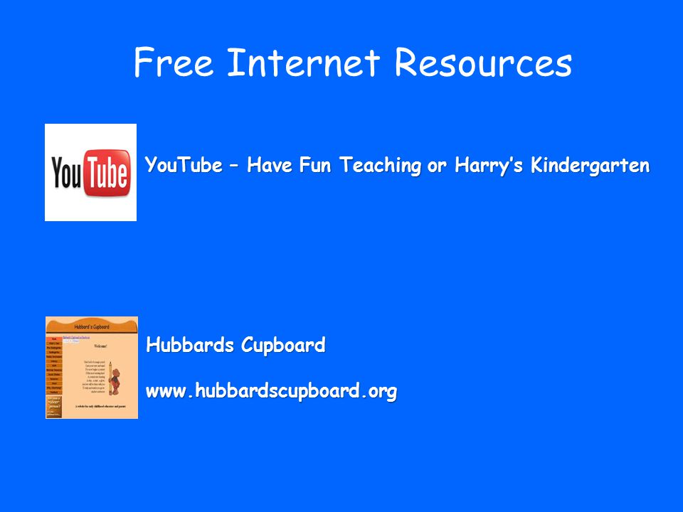 Free Internet Resources