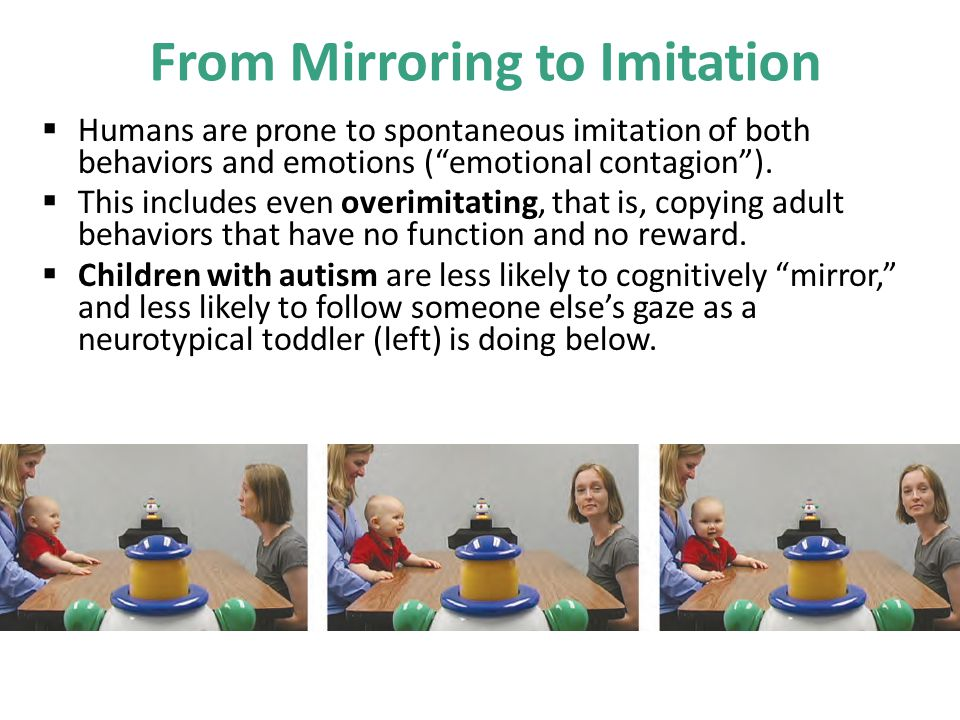 From Mirroring to Imitation