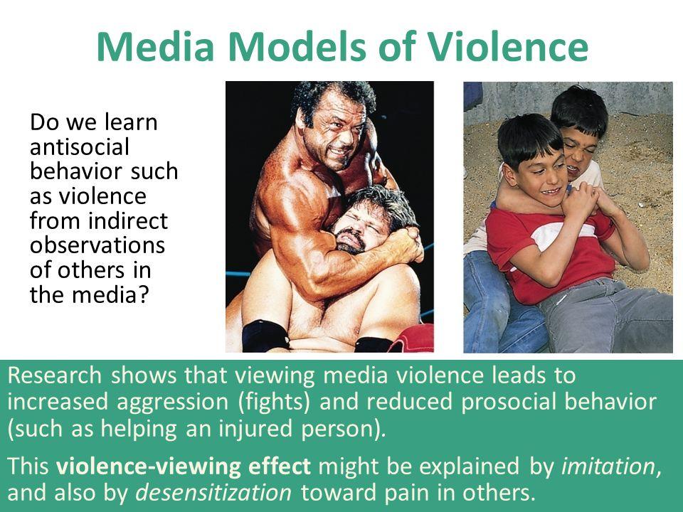 Media Models of Violence