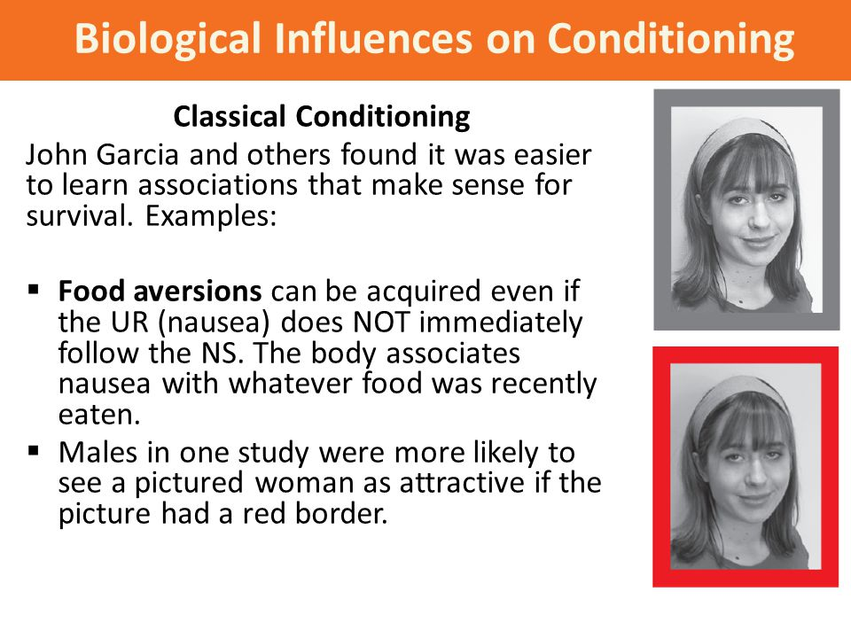Biological Influences on Conditioning