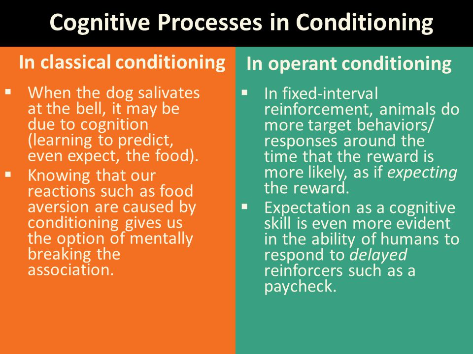 In classical conditioning