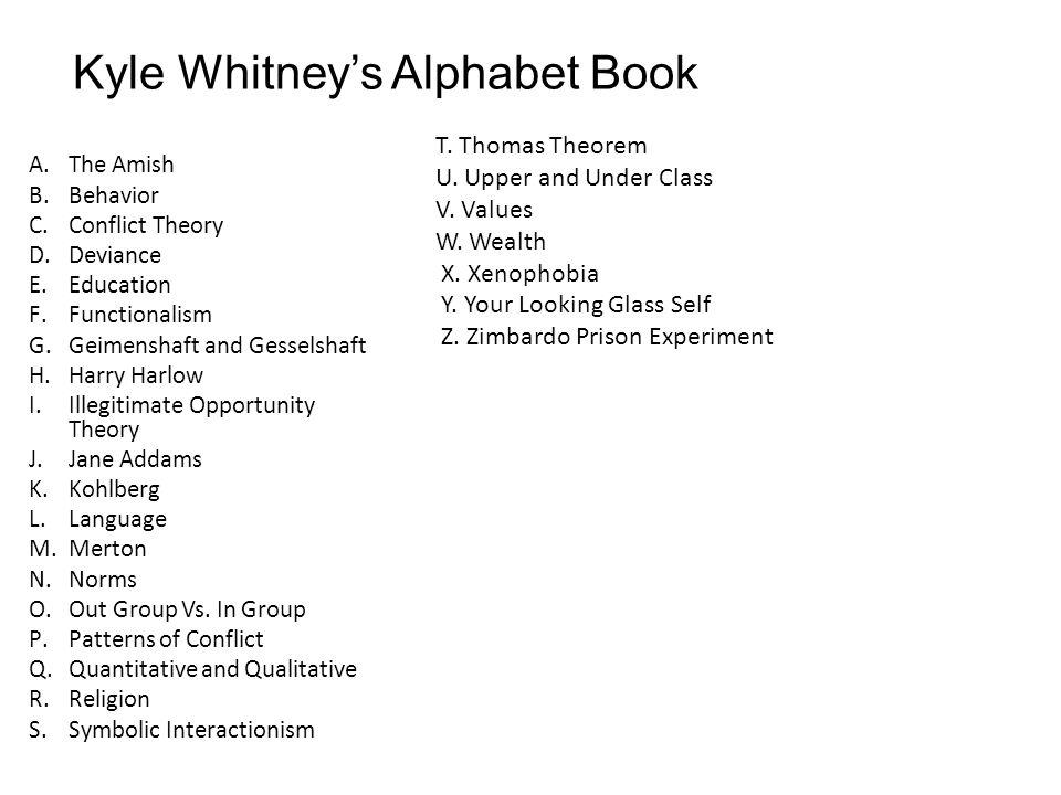 Kyle Whitney's Alphabet Book