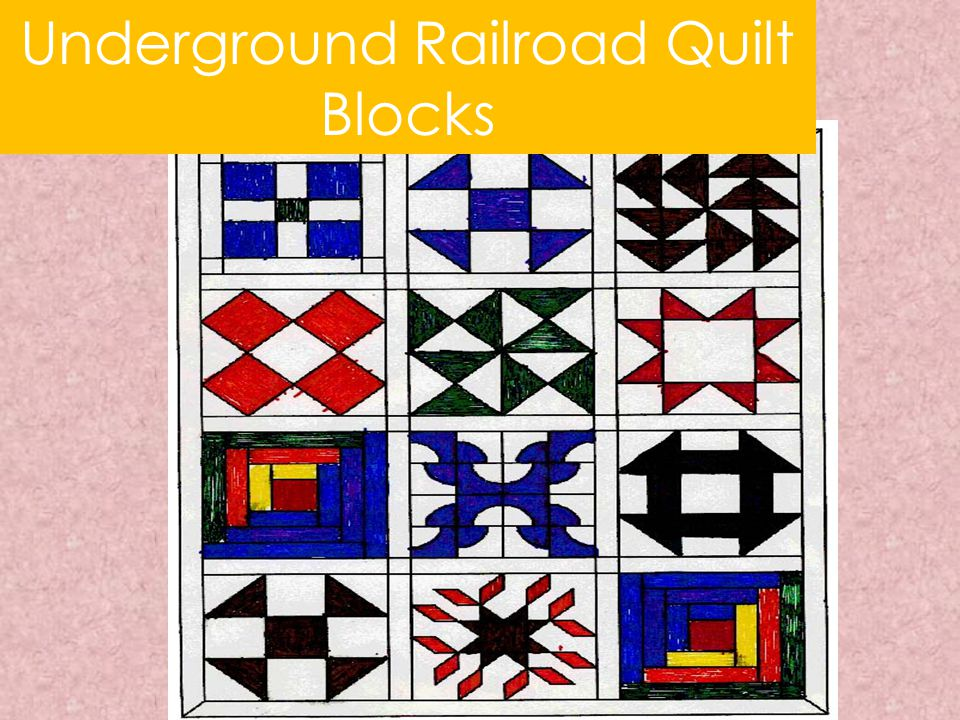 Underground Railroad Quilt Blocks