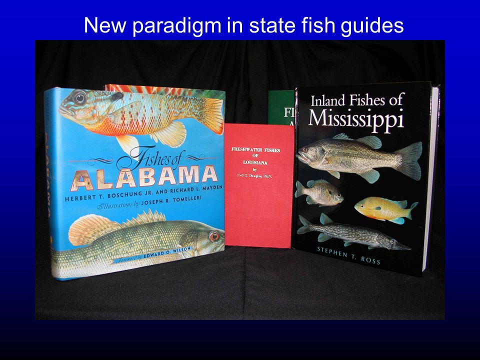 New paradigm in state fish guides