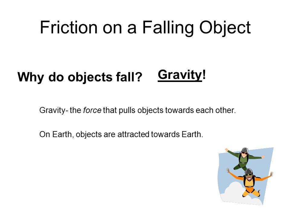 Friction on a Falling Object