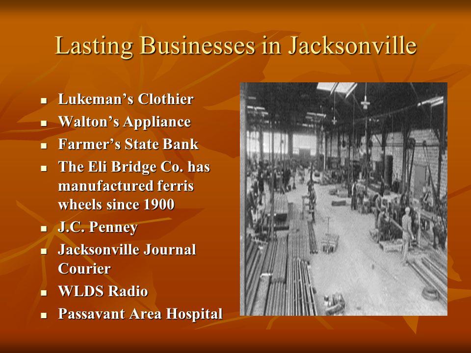 Lasting Businesses in Jacksonville