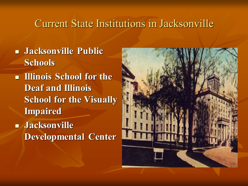 Current State Institutions in Jacksonville