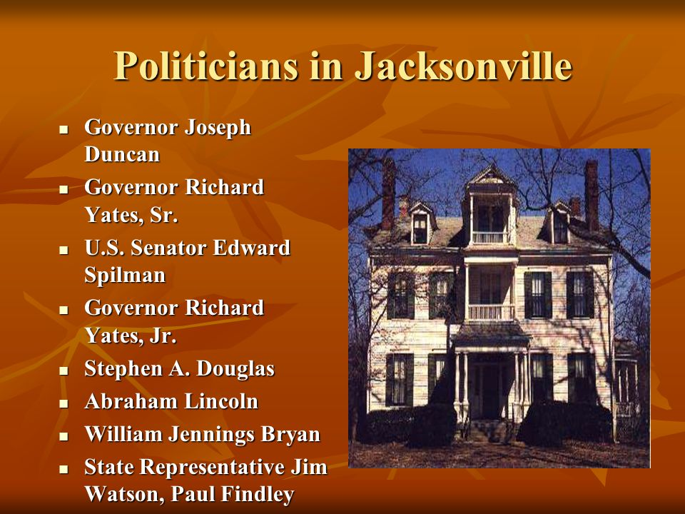 Politicians in Jacksonville