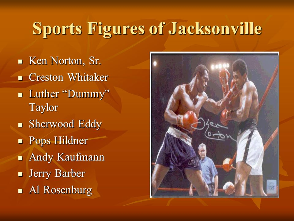 Sports Figures of Jacksonville