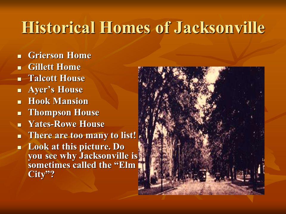 Historical Homes of Jacksonville