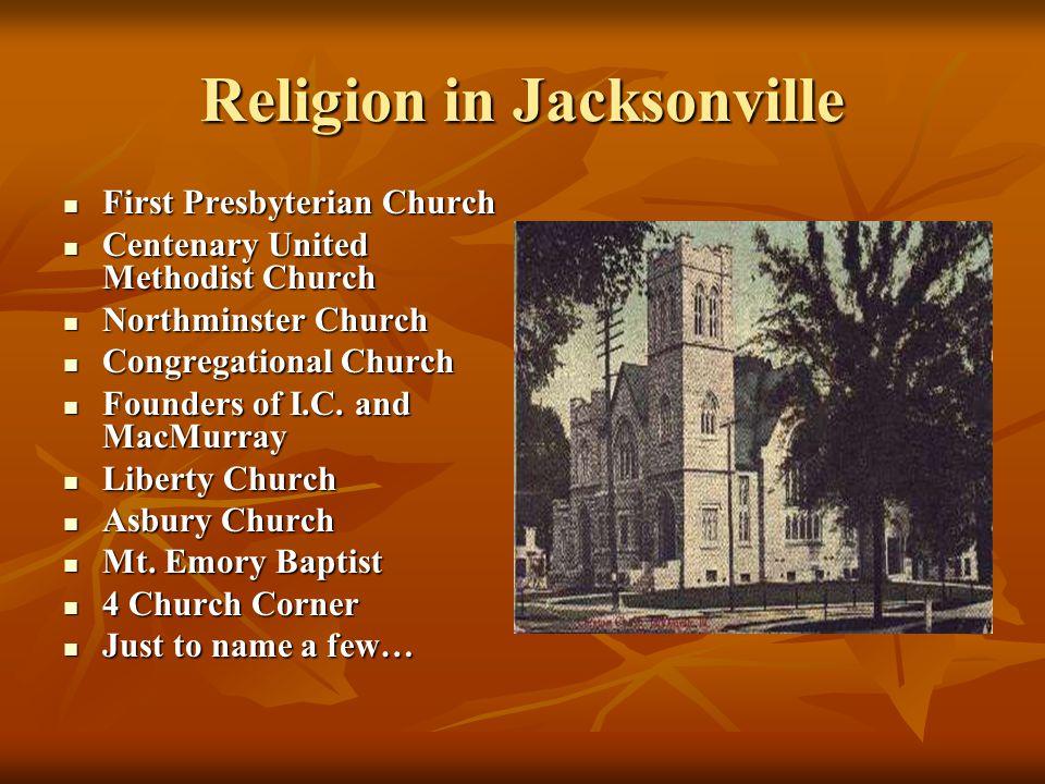 Religion in Jacksonville