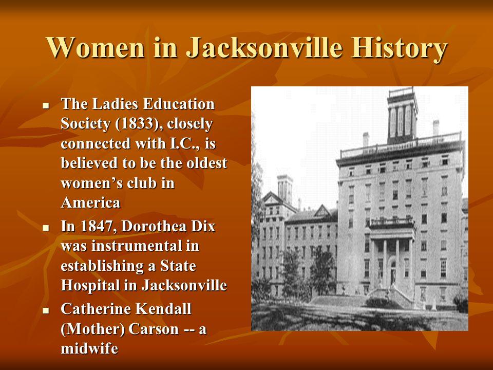 Women in Jacksonville History