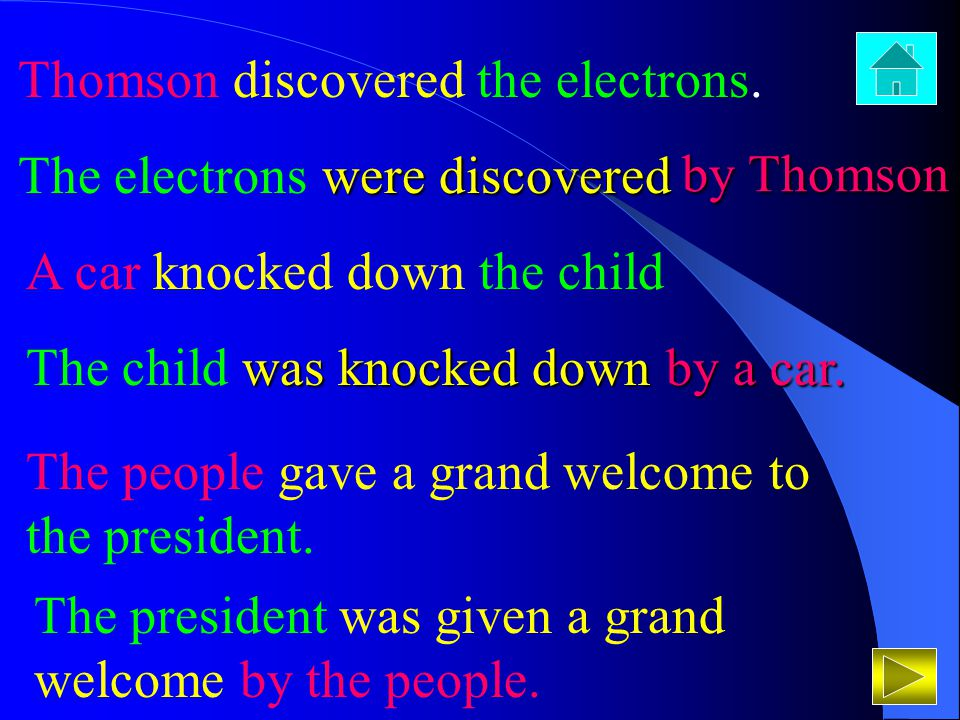 Thomson discovered the electrons.