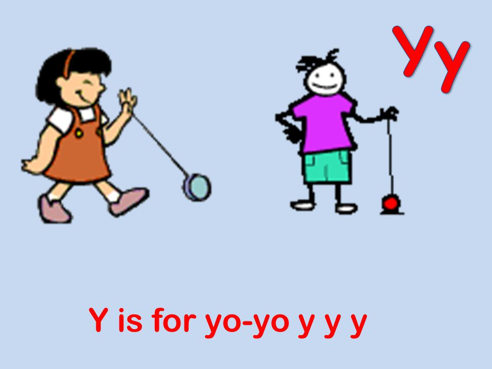 Yy Y is for yo-yo y y y