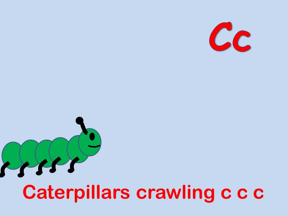 Cc Caterpillars crawling c c c
