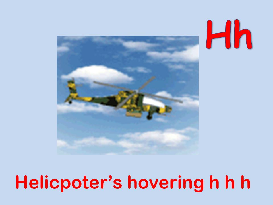 Hh Helicpoter's hovering h h h