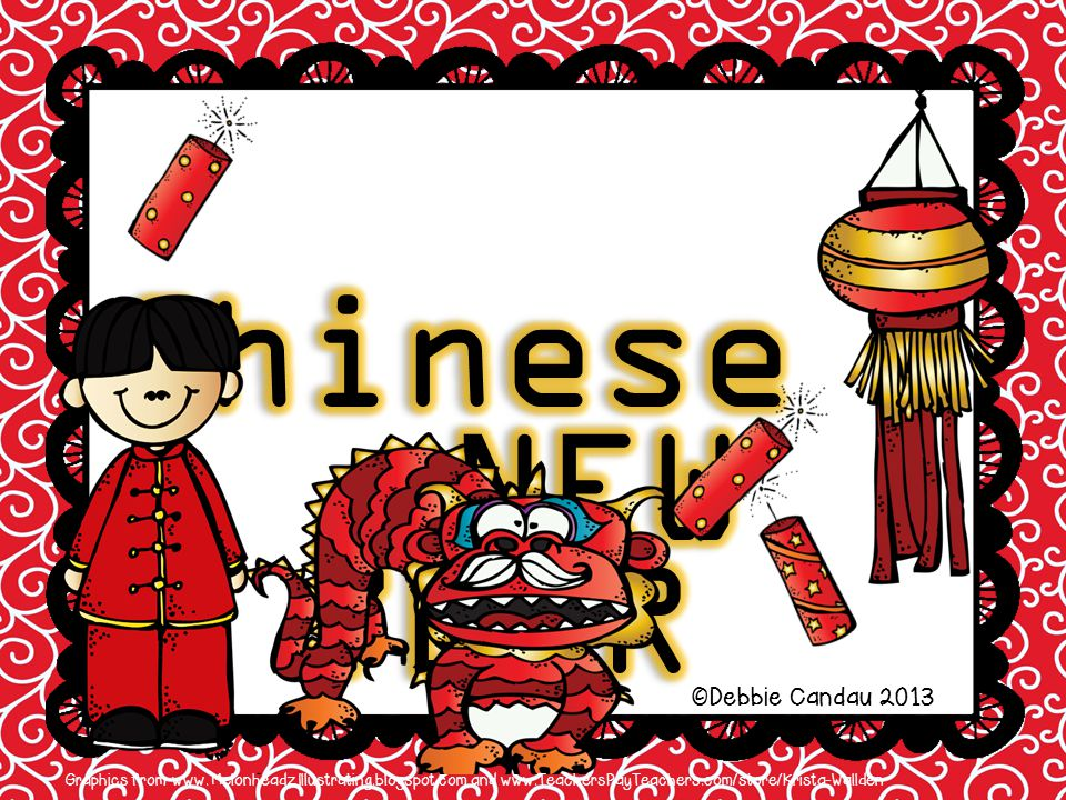 NEW YEAR Chinese ©Debbie Candau 2013