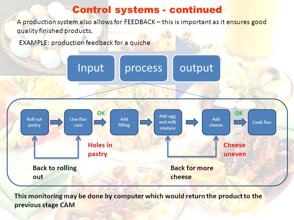 Control systems - continued