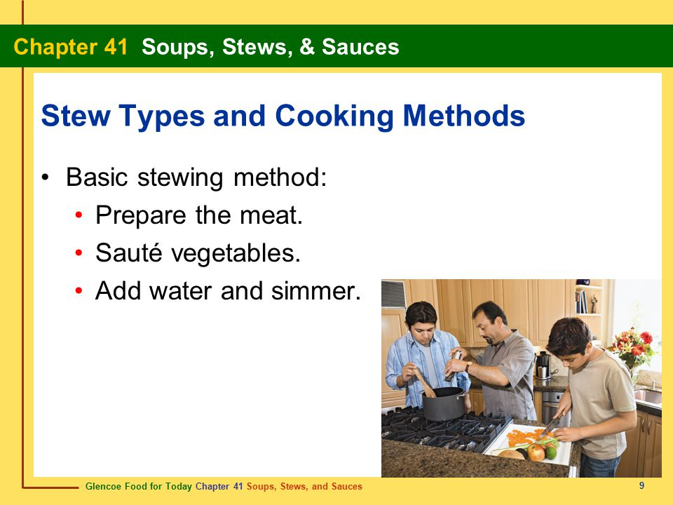 Stew Types and Cooking Methods