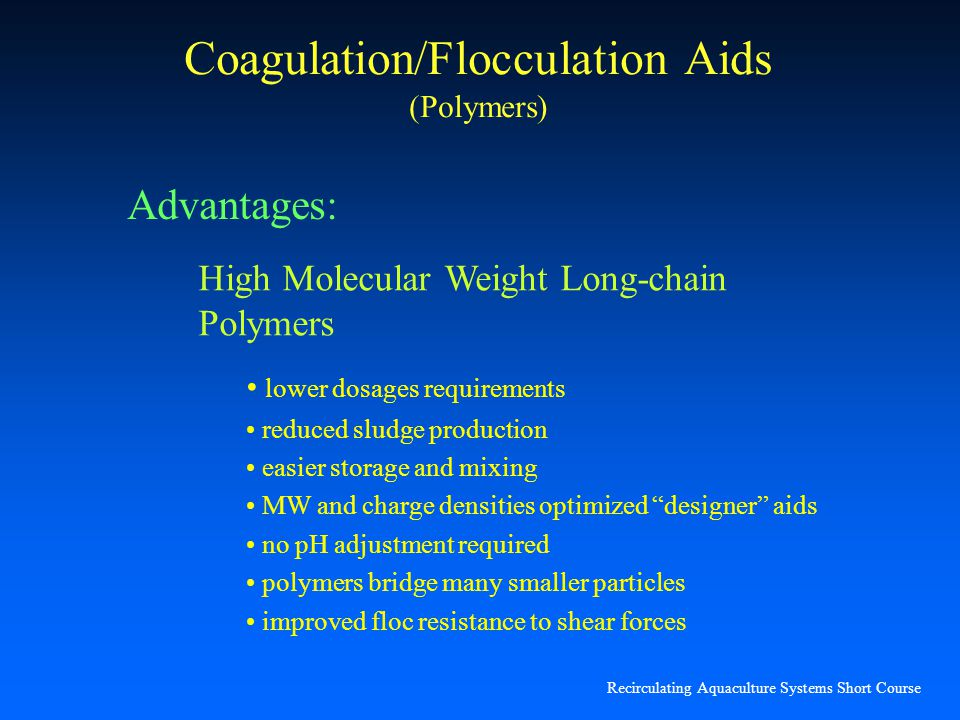 Coagulation/Flocculation Aids (Polymers)