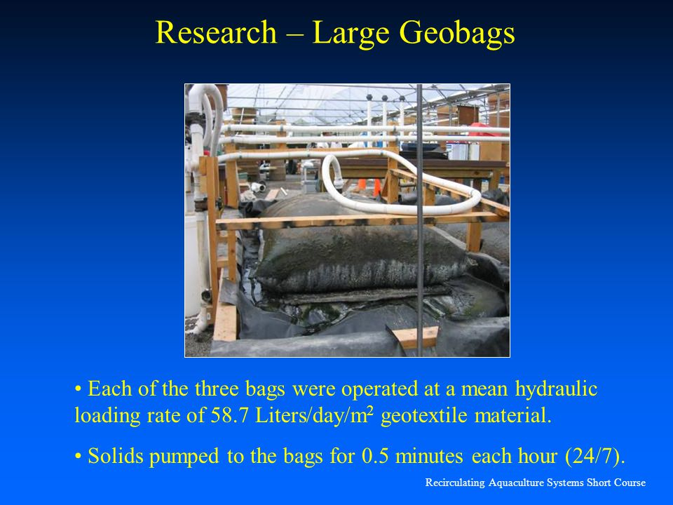 Research – Large Geobags