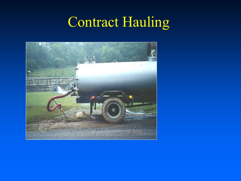 Contract Hauling Recirculating Aquaculture Workshop