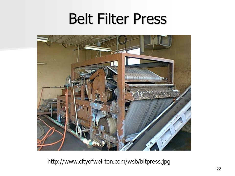 Belt Filter Press http://www.cityofweirton.com/wsb/bltpress.jpg