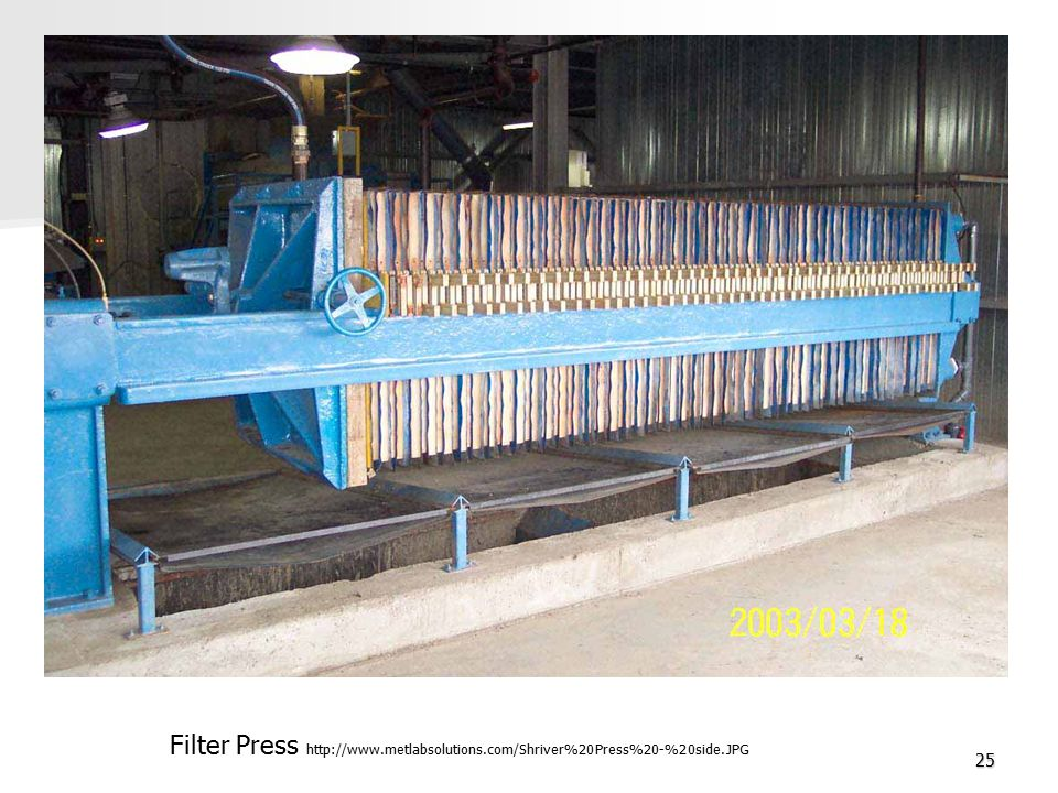 Filter Press http://www. metlabsolutions