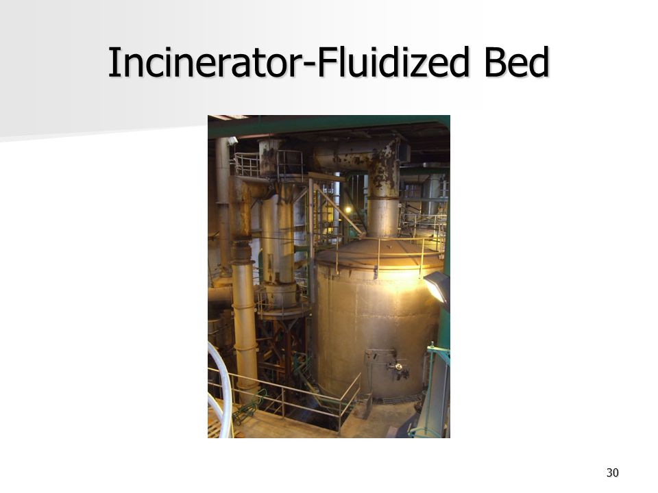 Incinerator-Fluidized Bed