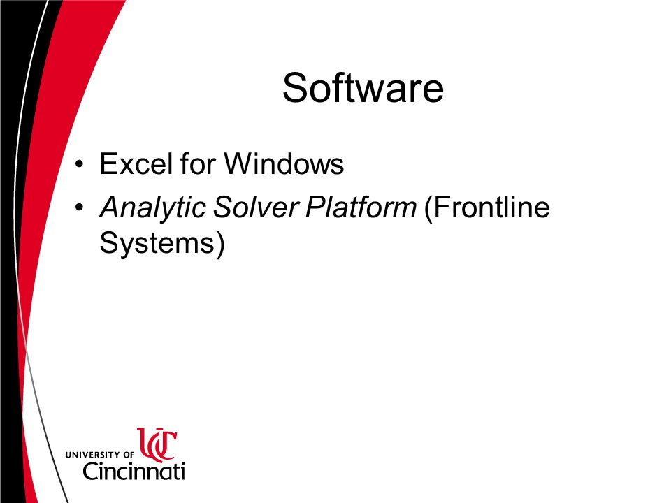 Software Excel for Windows