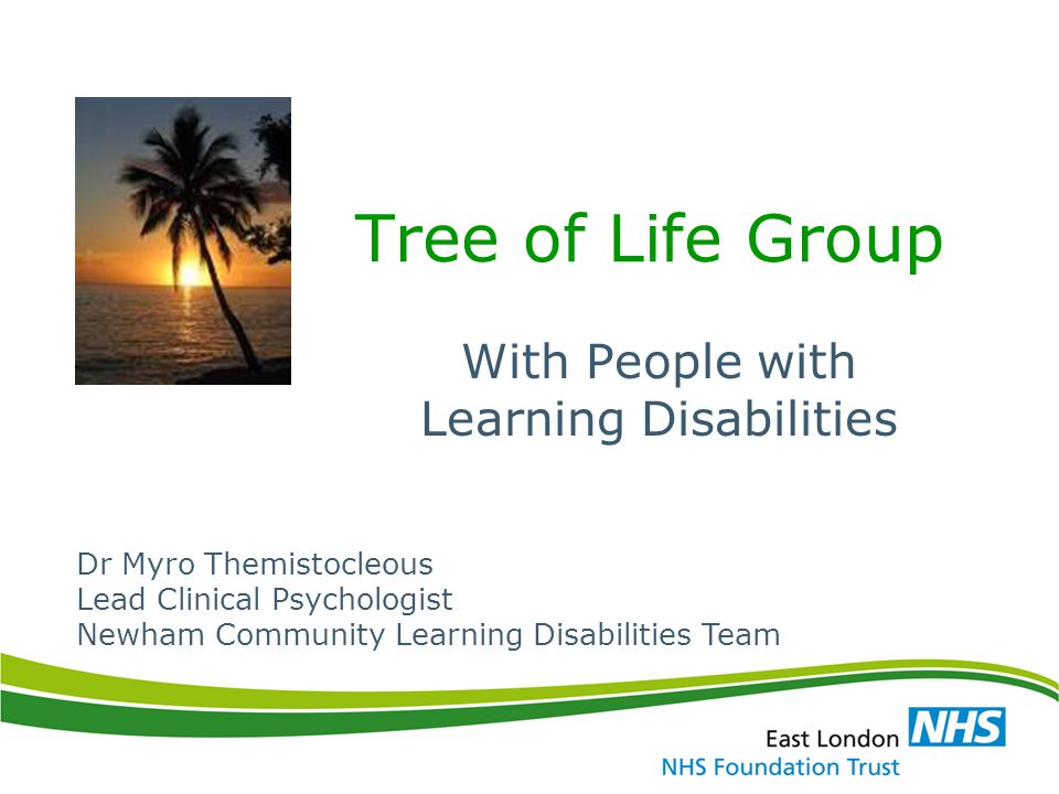 With People with Learning Disabilities