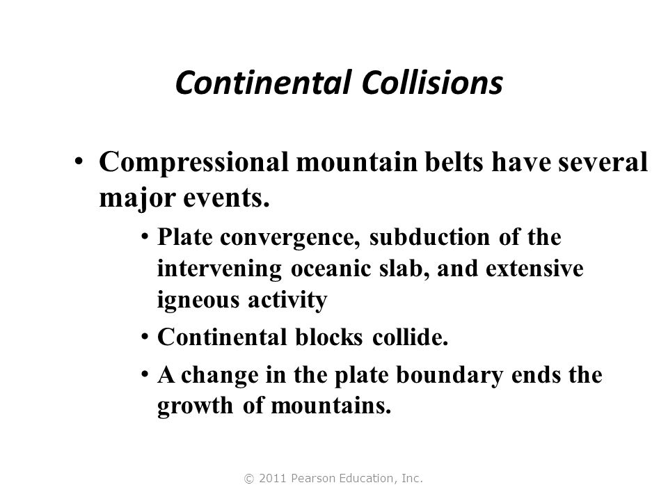 Continental Collisions