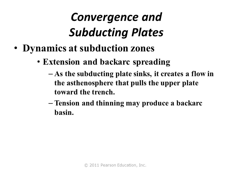 Convergence and Subducting Plates