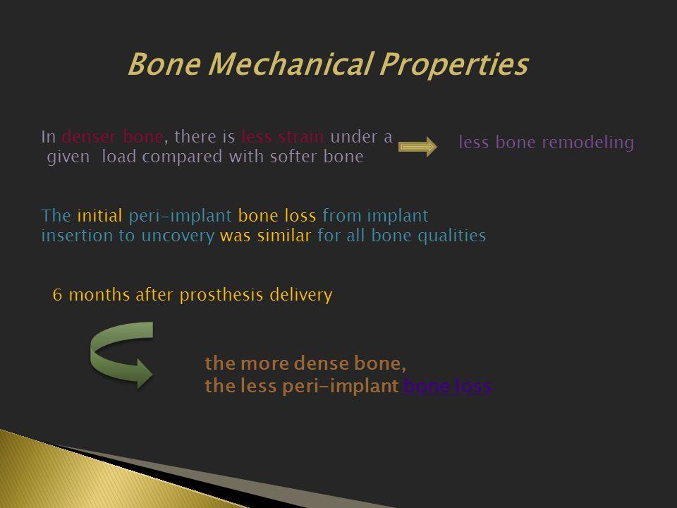 Bone Mechanical Properties