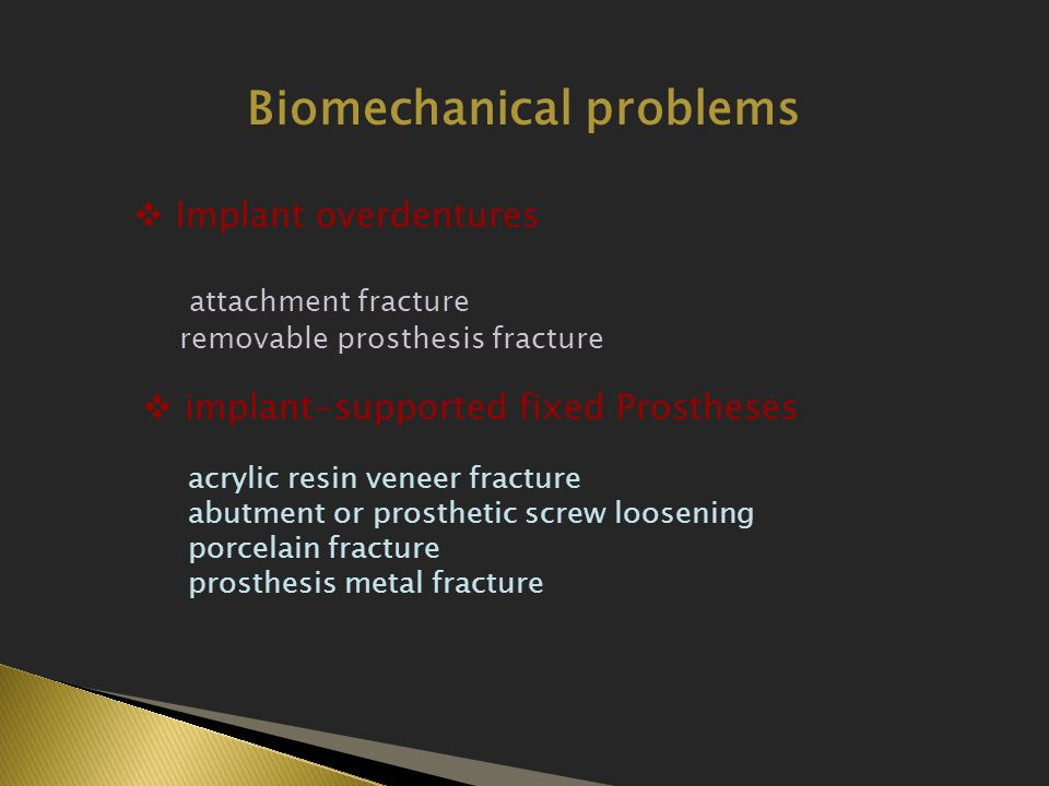 Biomechanical problems