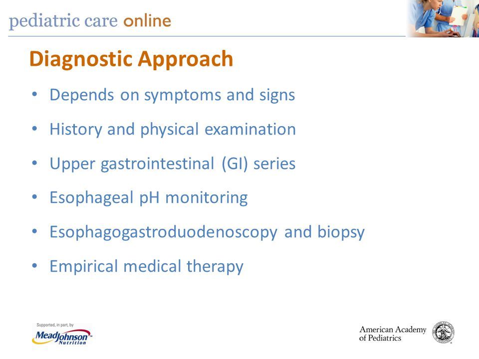 Diagnostic Approach Depends on symptoms and signs