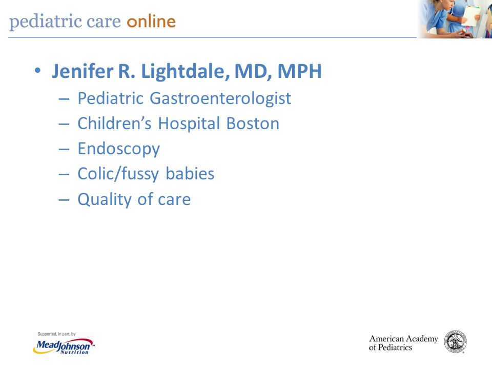 Jenifer R. Lightdale, MD, MPH