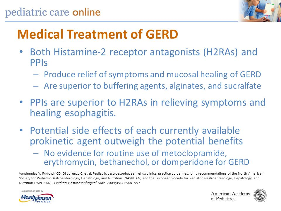 Medical Treatment of GERD