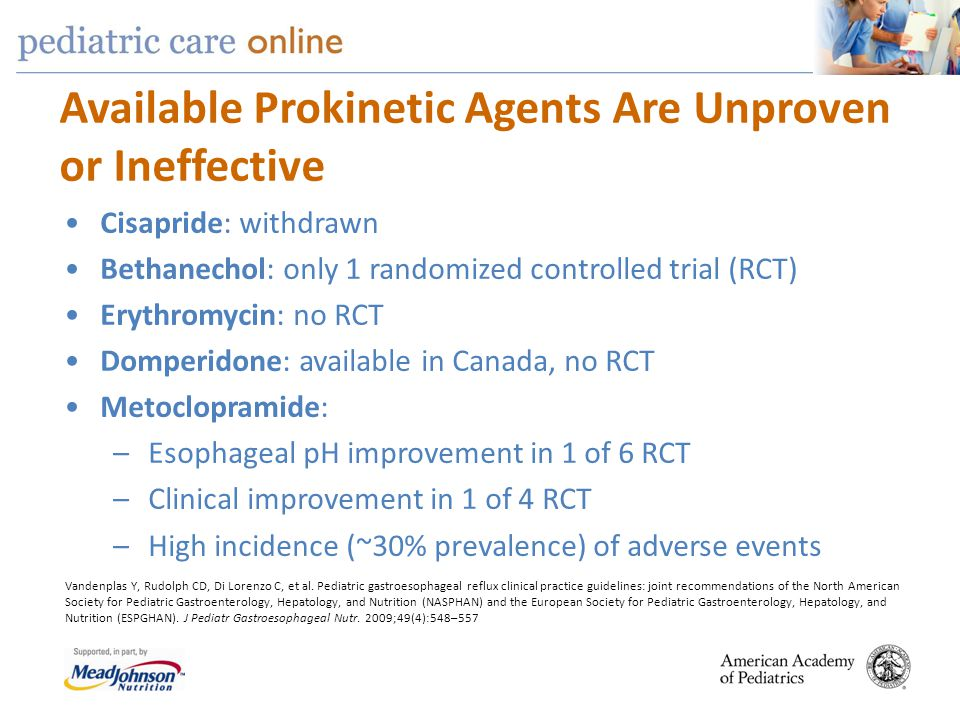 Available Prokinetic Agents Are Unproven or Ineffective
